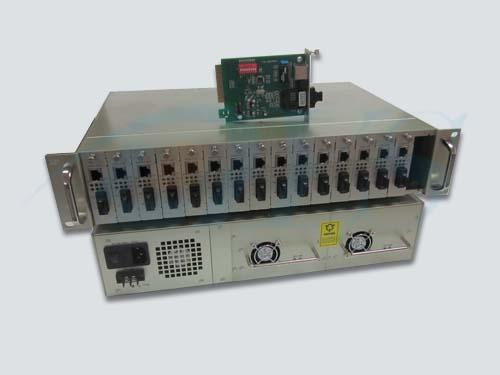 1310nm Multimode Power Optical Fiber Media Converter For Optical Network