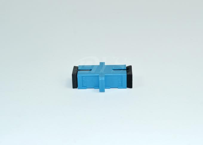SC-SC Simplex Singlemode Fiber Optic Adapter Blue
