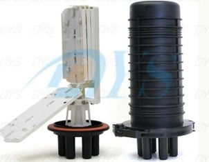 216 Core Dome Fiber Optic Splice Closure , Heat Shrink Type Sealing
