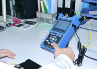 الصين Shock Proof / Dust Proof USB / RS-232 Fiber Optic Test Equipment Palm OTDR Tester الشركة