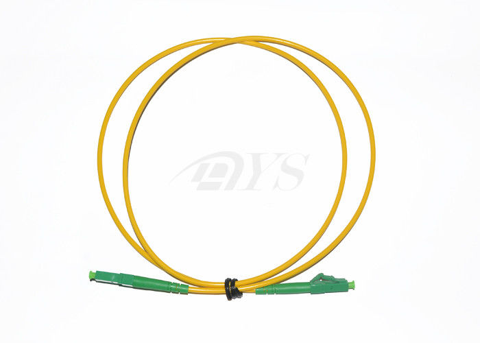 Corning Optical Fiber Patch Cord LC / APC-LC / APC , Low Insertion Loss & PDL المزود