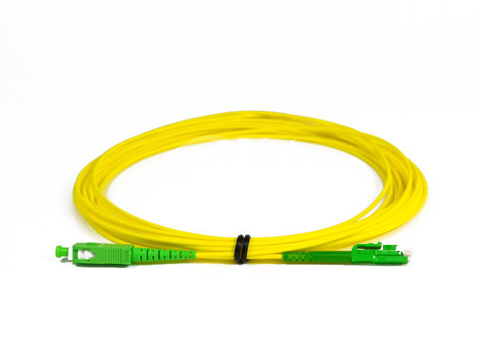 الصين SC / APC -LX.5 / APC Simplex Fiber Optic Patch Cord for Access Network المزود