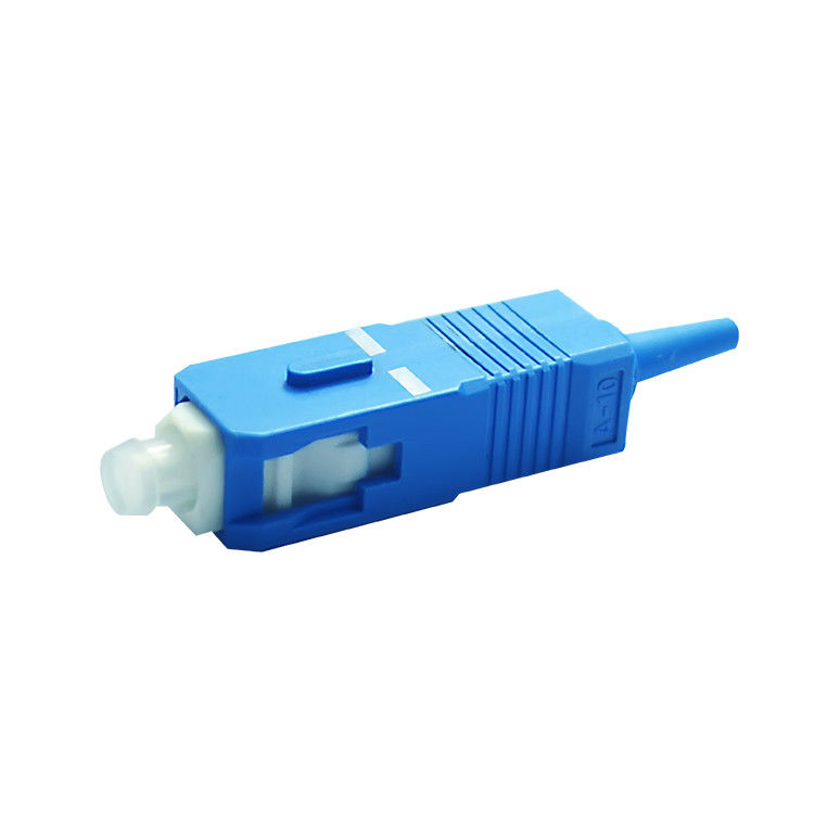الصين Singlemode 9 / 125 SC / UPC Fiber Optics Connectors Low insertion loss value المزود