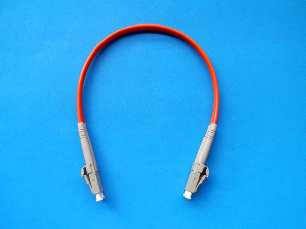 High Temperature Stability Simplex / Duplex LC Instrument Optical Fiber Patch Cord المزود